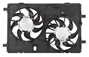 Spectra Premium CF15065 Dual Radiator Fan Assembly