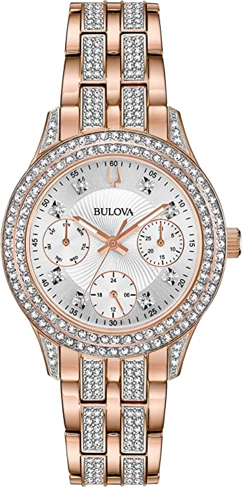 Bulova Womens Crystal - 98N113 - 10159923 , B0727RCYNL , 285_B0727RCYNL , 11107753 , Bulova-Womens-Crystal-98N113-285_B0727RCYNL , fado.vn , Bulova Womens Crystal - 98N113