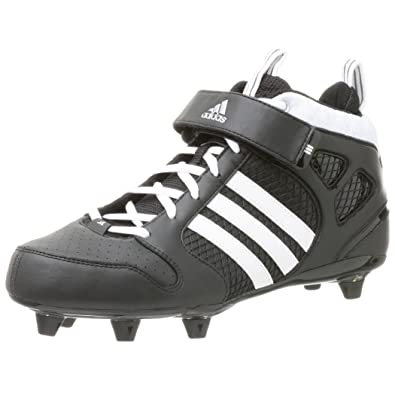 competitive price f1438 c74e9 adidas Men s Grid Iron 7 D Mid,Black Runwht Metsil,10.5 M