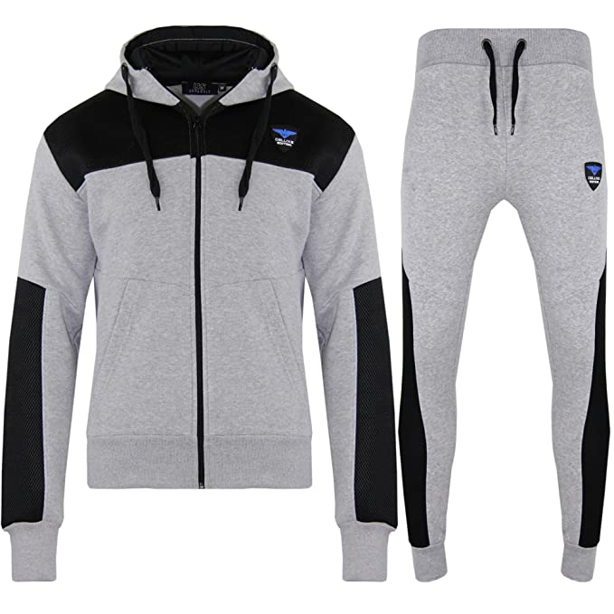 Boys Blue And White Zipped Hooded Top And Jogging Bottoms Age 2-3 Men's Clothing Clothing, Shoes & Accessories