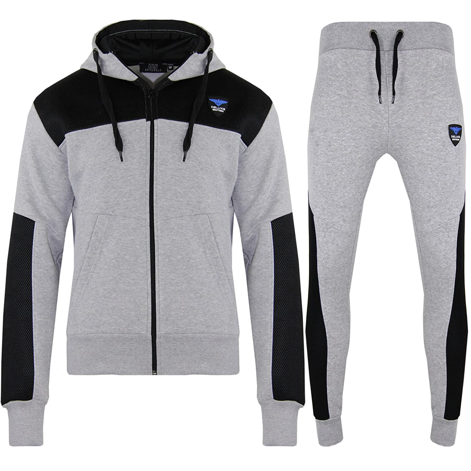 Boys Kids Fleece NY Tracksuit Sports Jogging Bottoms Pants Hoodie Age 2-13 Years