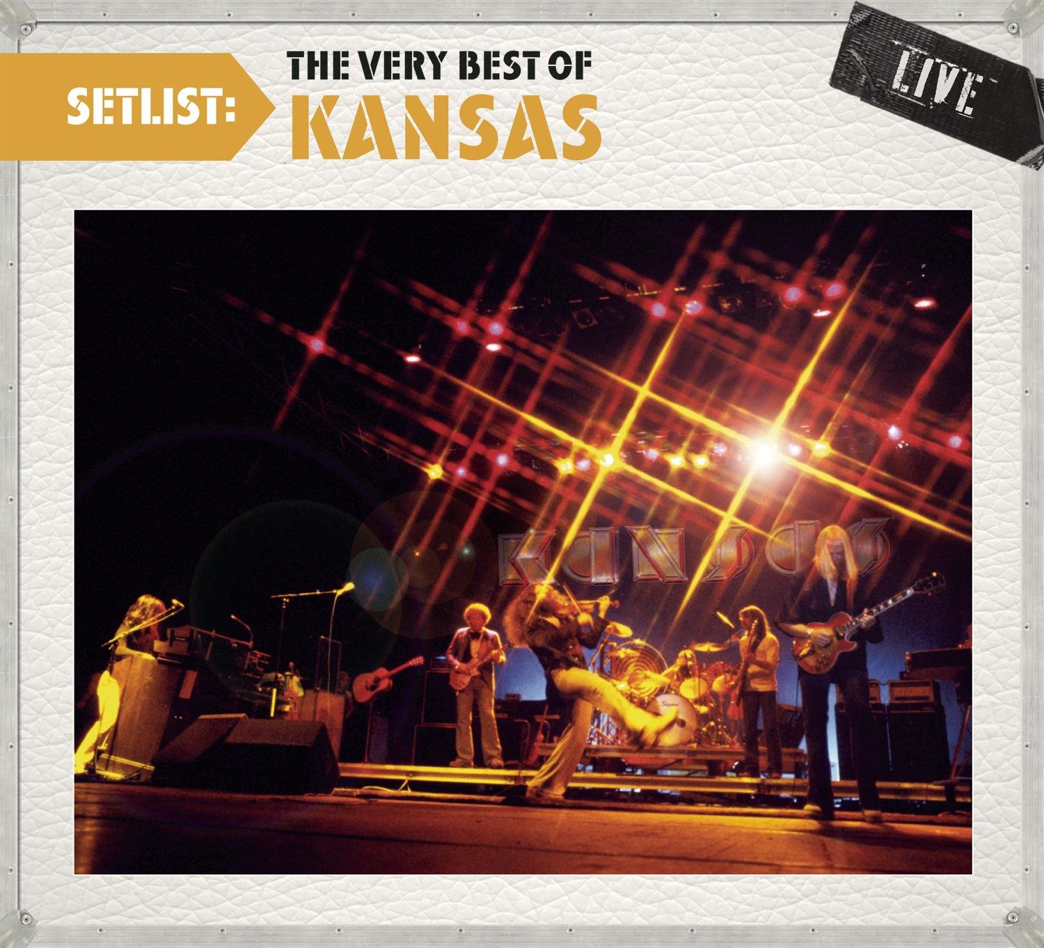 Setlist: The Very Best Of Kansas LIVE by CD
