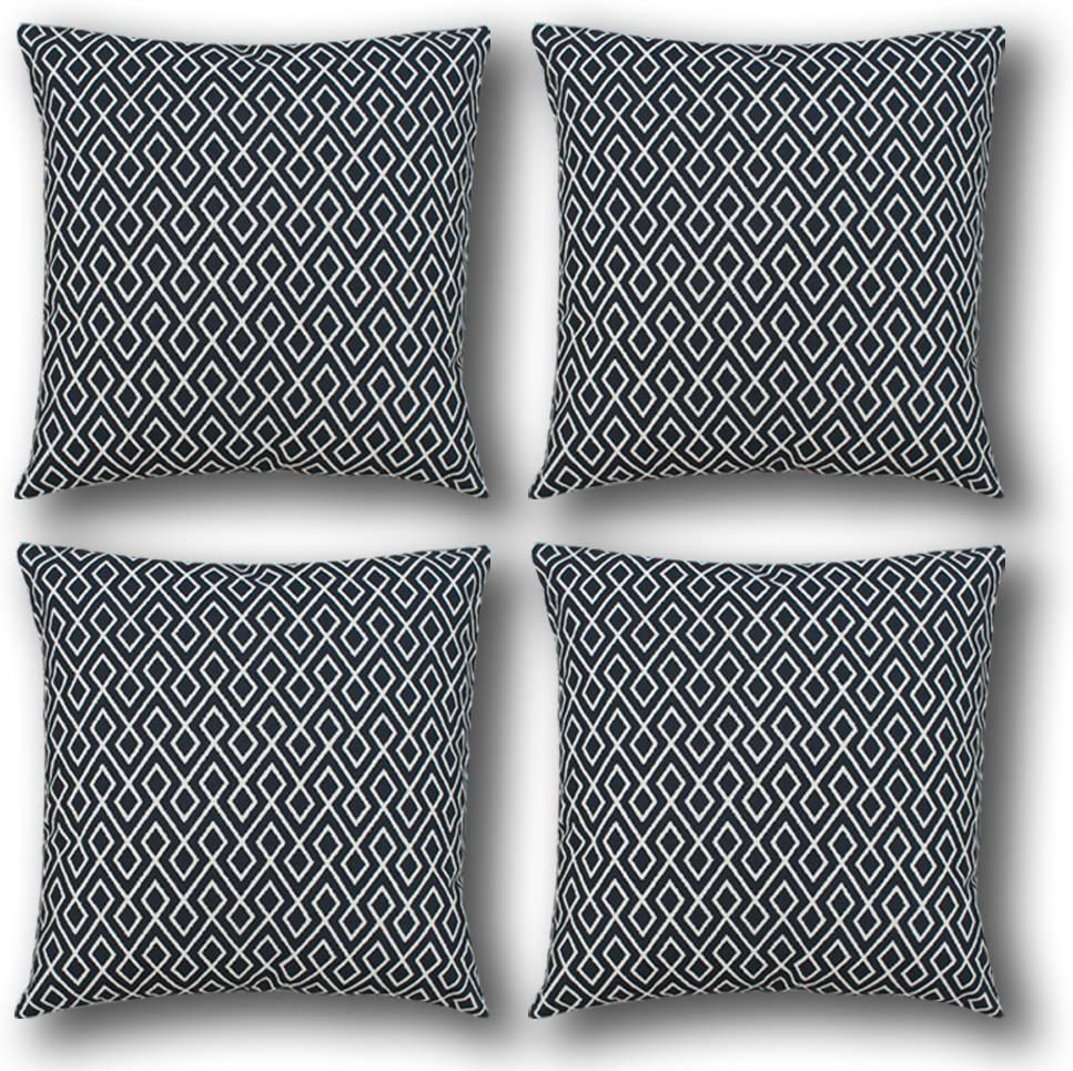 Livingtex Throws Decorative Cushion Covers 20x20 (4 pcs Set) (CN-91)