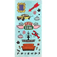 Jay Franco Friends Central Perk Bath/Pool/Beach Towel, Blue