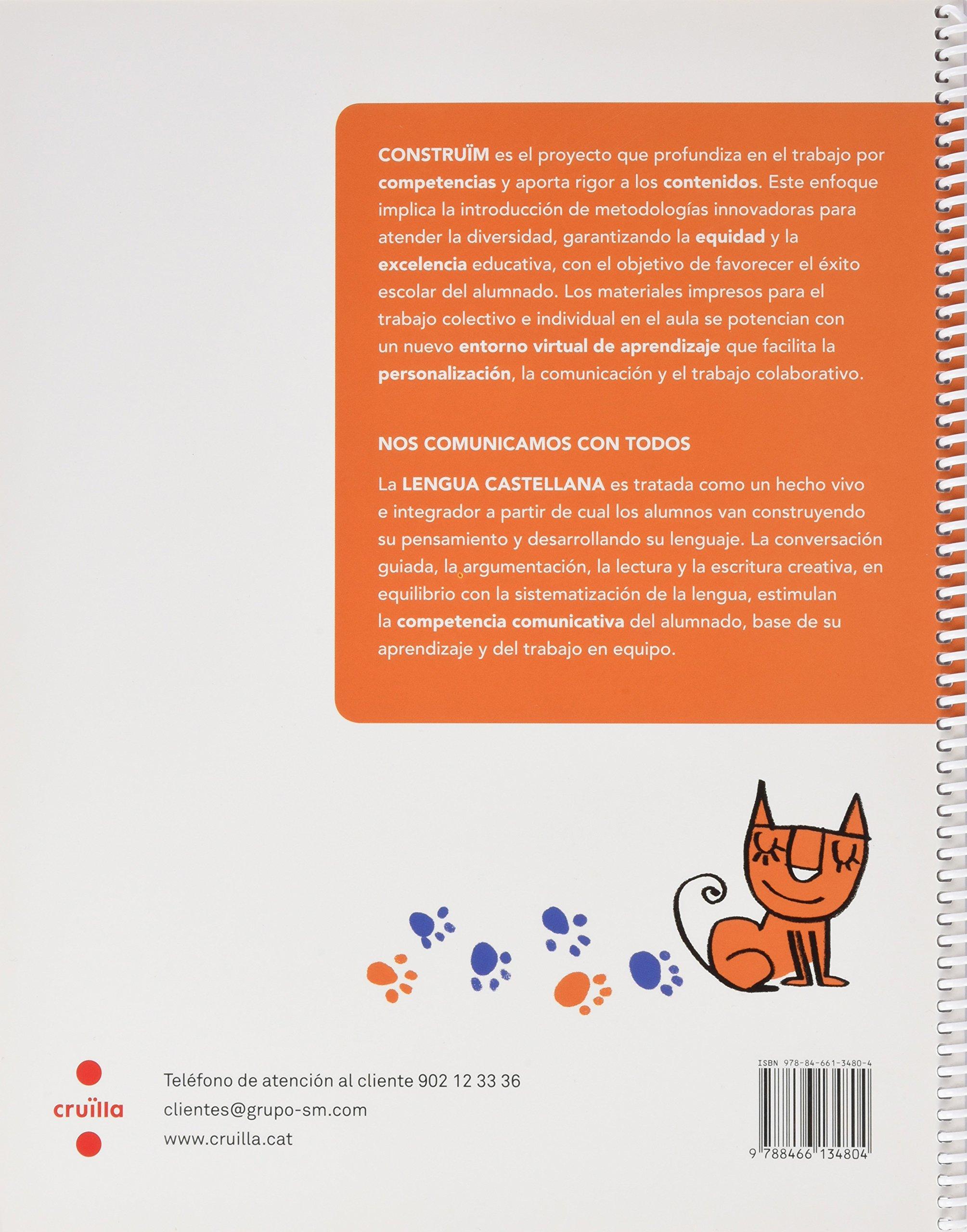 Supercompetentes en... Lengua castellana. 5 Primaria. Construïm. Cuaderno -  9788466134804: Amazon.es: Equip Editorial Cruïlla, Roberta Bridda: Libros