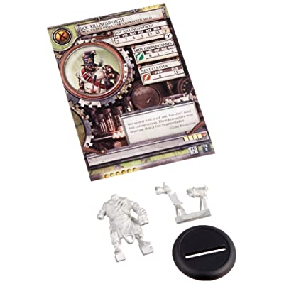 Privateer Press - Warmachine - Mercenary: Doc Killingsworth Model Kit: Toys & Games