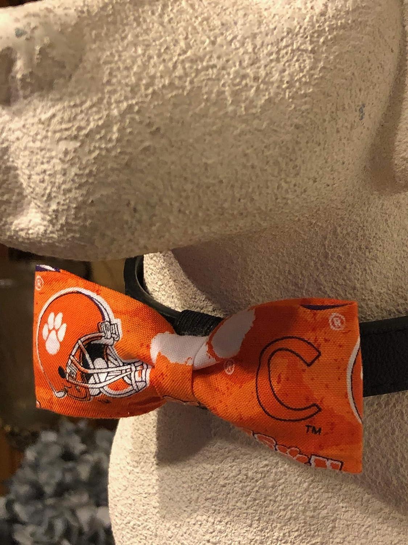 Clemson Pet Bow Tie #2