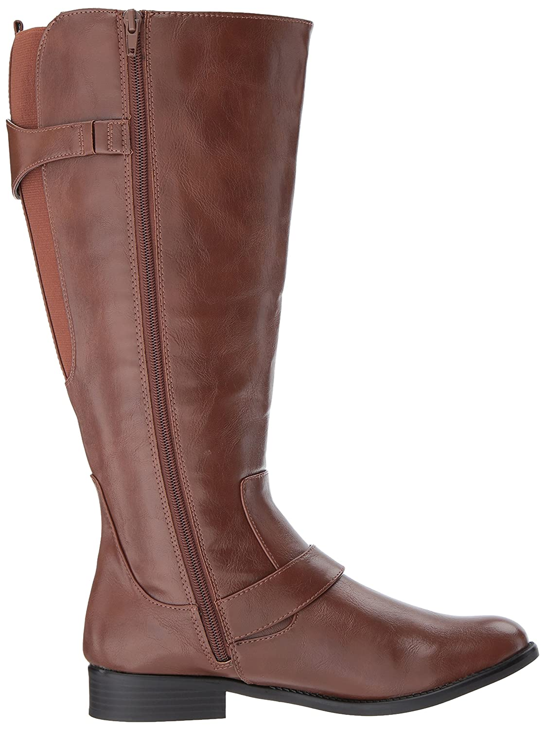 LifeStride Women's Rosaria-Wc Equestrian Boot B075G66PHG 7.5 W US|Dark Tan Wc