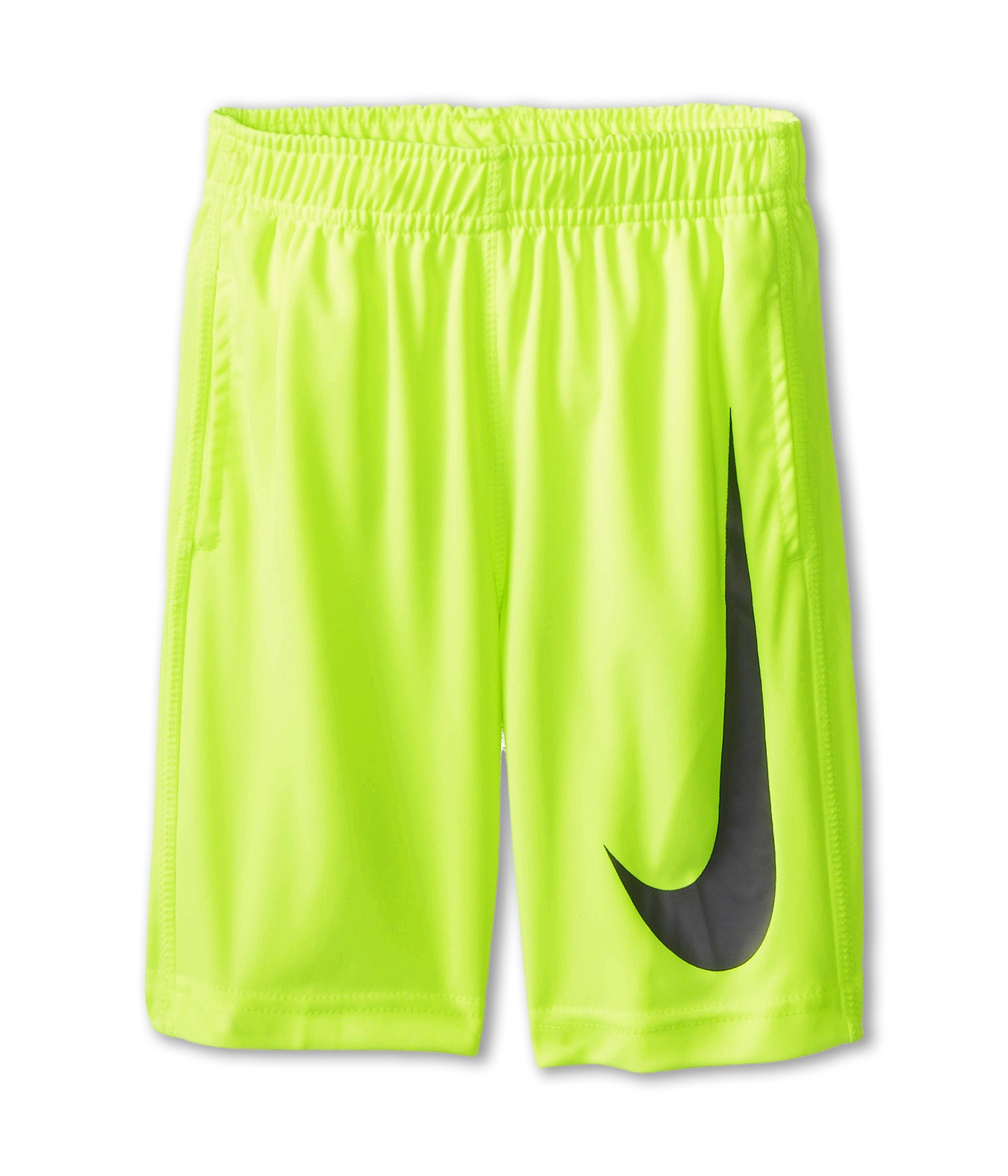 NIKE Little Boys' Swoosh Performance Shorts (4, Volt) by NIKE