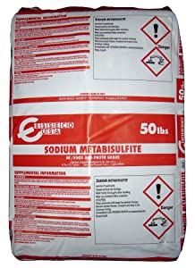 Sodium Metabisulfite [Na2S2O5] [CAS_7681-57-4] NF/ Food and Photo Grade 97+% for Sale, White / Slightly Yellow Crystal Powder (50 Lbs Bag) sold by Wintersun Chemical