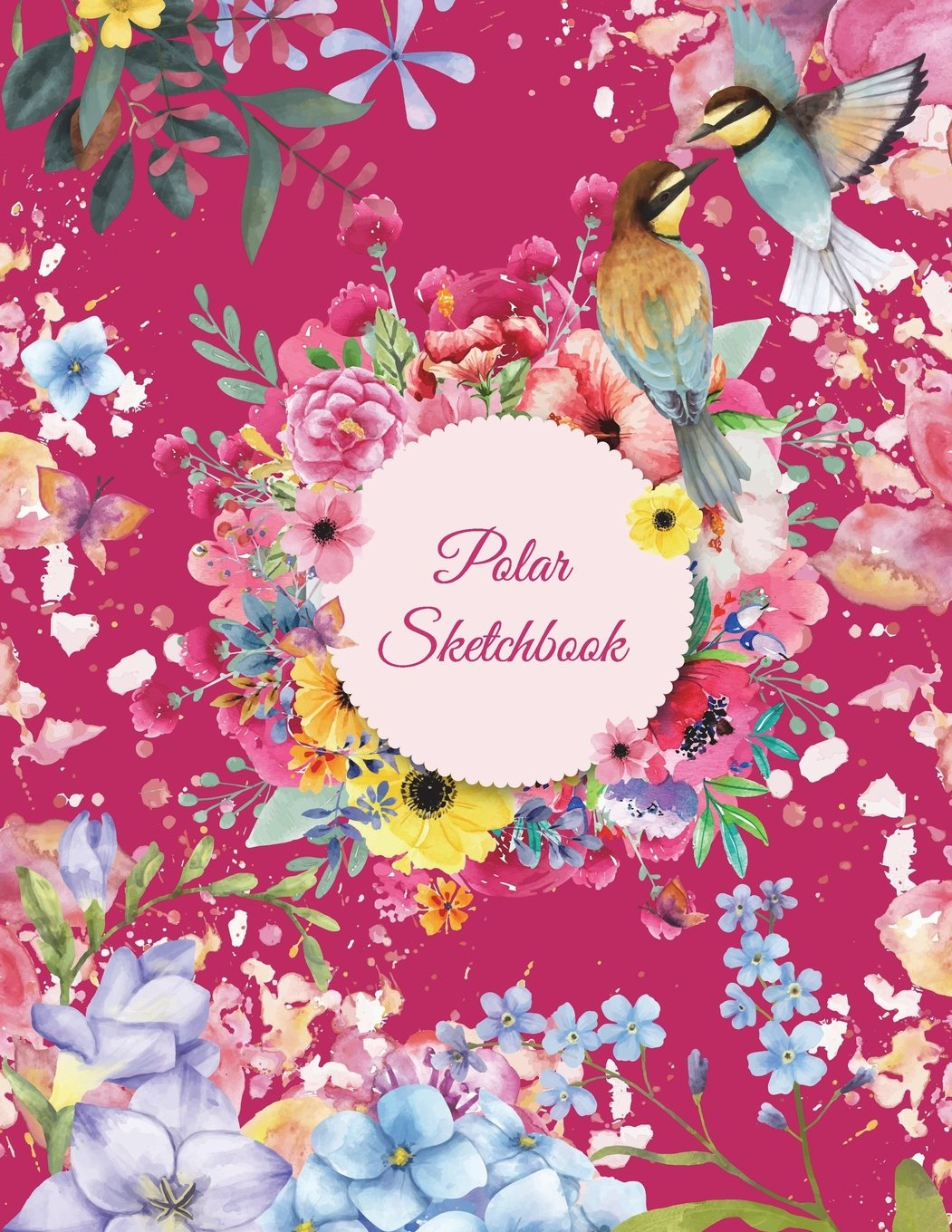 "Download Polar Sketchbook: Pink Color Book, 5 Degree Polar Coordinates 120 Pages Large Print 8.5"" x 11"" Polar Graph Paper Notebook PDF"