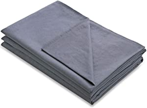 Amy Garden Cotton Duvet Cover for Weighted Blanket, Grey - 48x72 Inch
