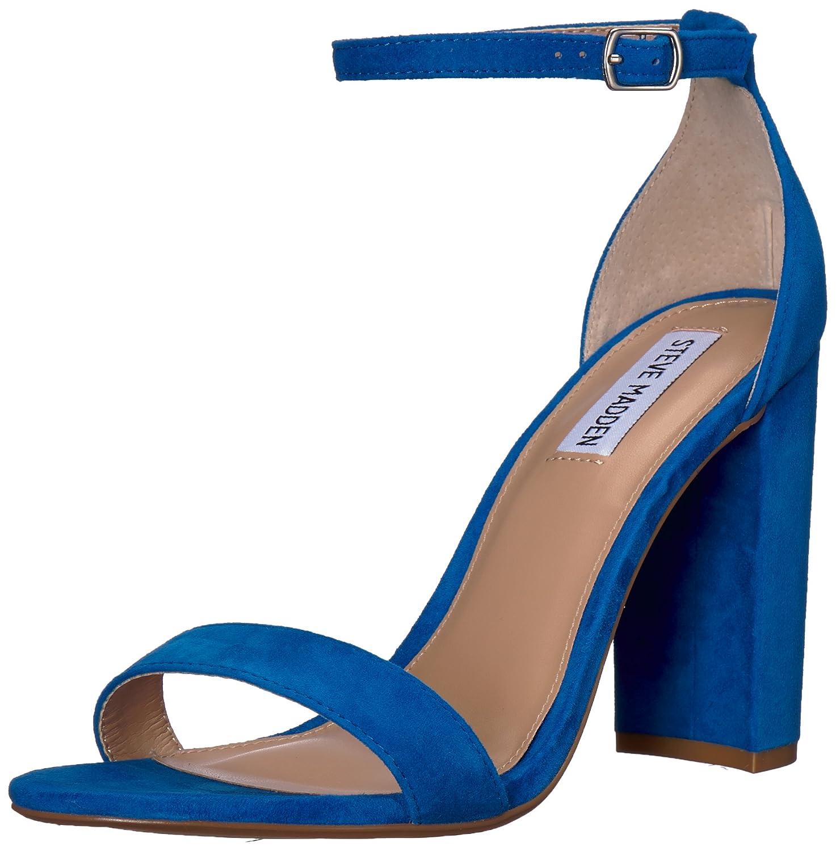 人気ブランドの Steve Madden シーブルー Womens Carrson Open 7.5 Toe Special Occasion Toe Suede Ankle Strap Sandals B078NJ2S3X 7.5 B(M) US|シーブルー シーブルー 7.5 B(M) US, オヤマチョウ:a9372faf --- arianechie.dominiotemporario.com