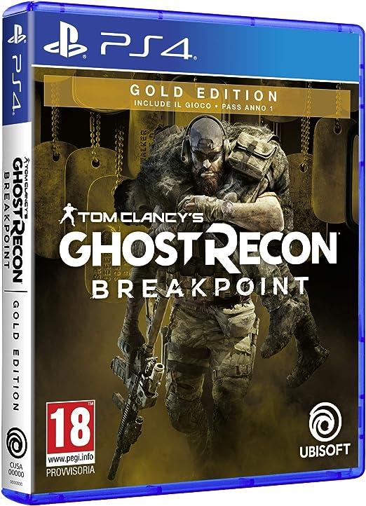 Ghost Recon Breakpoint Gold Edition PlayStation 4 [Importación ...