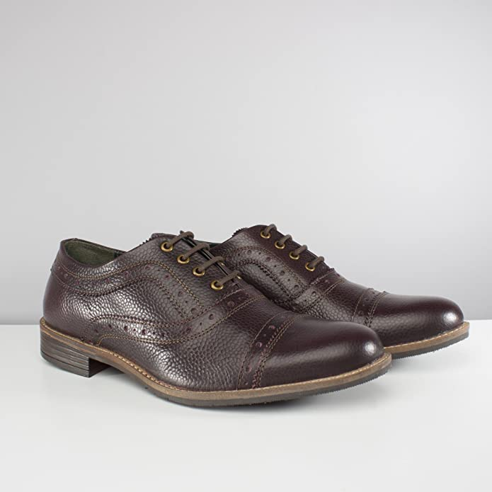 4f43fe6a61cd9 Silver Street London Albany Mens Leather Oxford Brogue Shoes Oxblood UK 9:  Amazon.co.uk: Shoes & Bags
