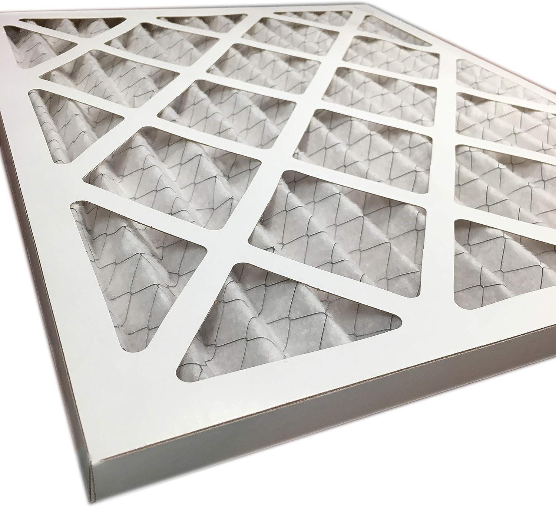 MERV 13 Air Furnace Filters 15.5x24.5 2 Pack Accumulair FD16X25 Diamond 16x25x1