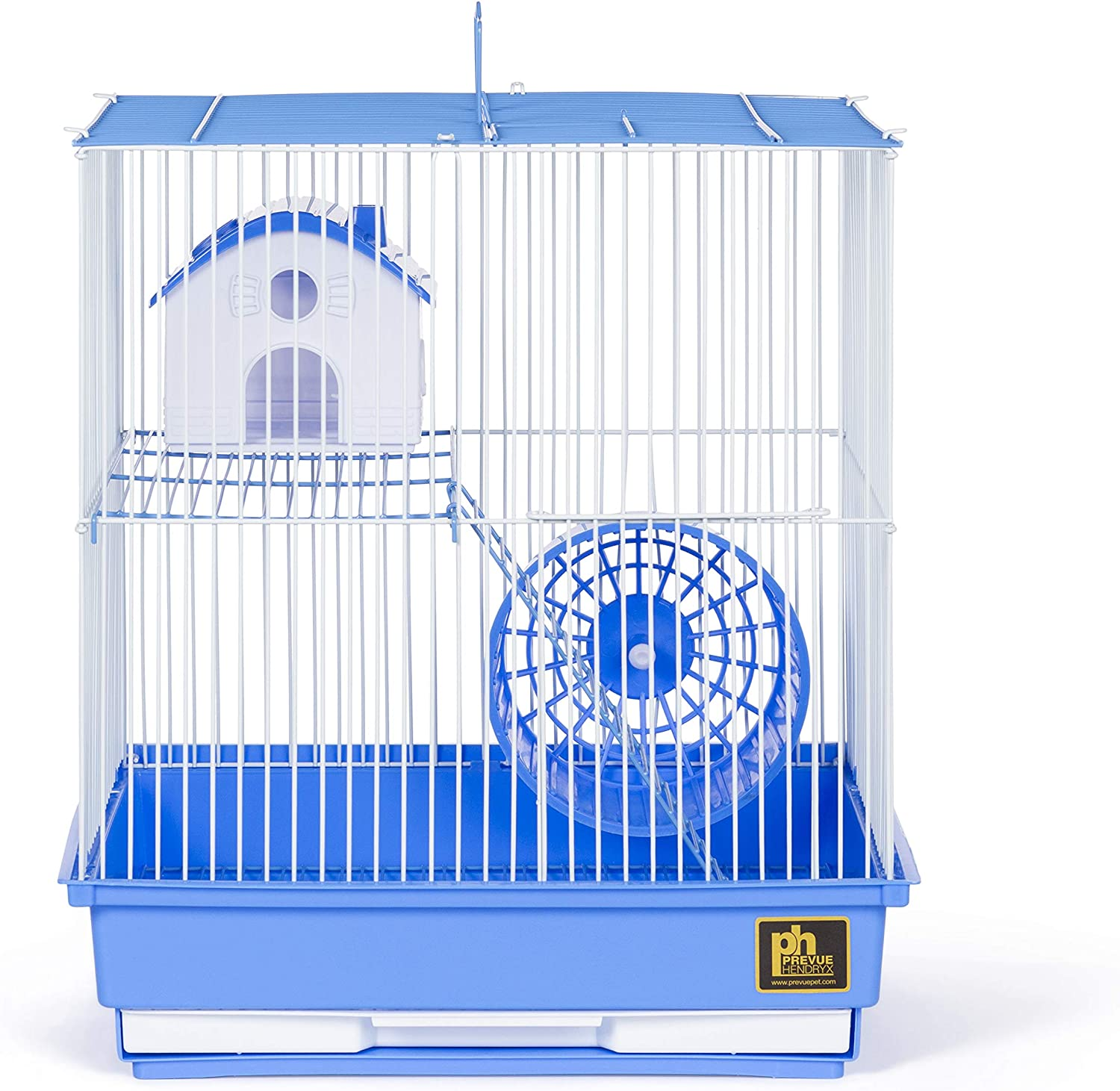 Prevue Pet Products Two-Story Hamster & Gerbil Cage Blue