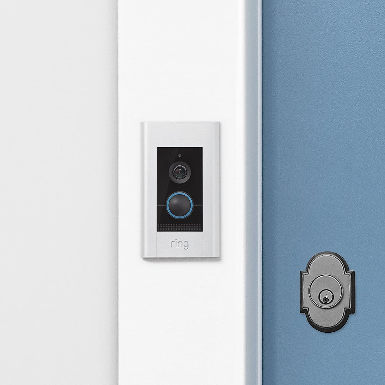 Ring Video Doorbell Elite Amazon Devices Wiring A Us Plug Colours