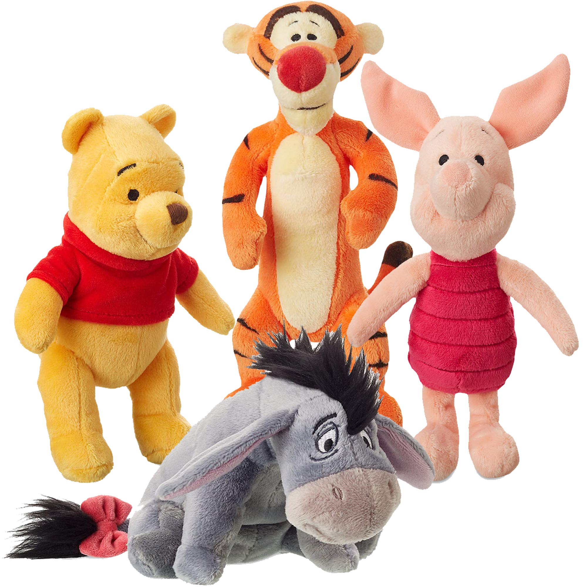 Winnie the Pooh Stuffed Animal Set and Friends Plush Toys by Winnie the Pooh