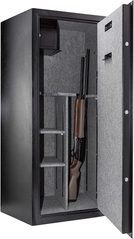 BUFFALO RIVER a558003. Caja fuerte para armas Digital Premium 24 armas de combinación: Amazon.es: Hogar