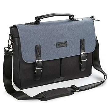 Inateck Water-resistant Vintage Messenger Bag,14-14.1 Inch Laptop Bag  Compatible 15 e53f96da7b