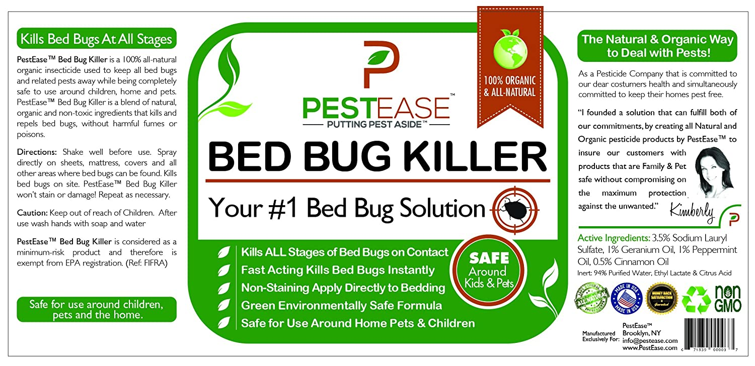 incl recipes detailed bed to pictures bugs quickly and solution get with rid of remedies home
