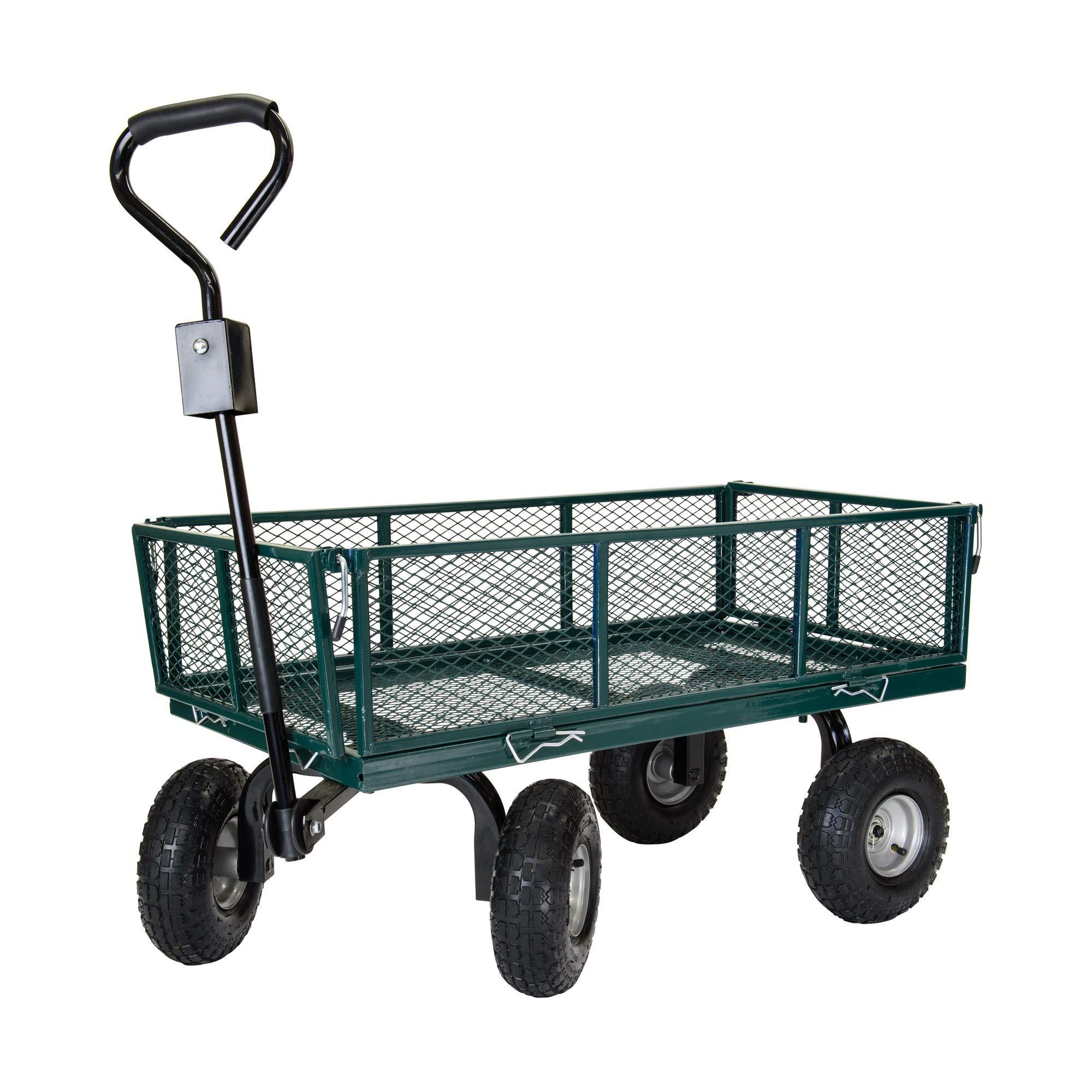 Garden Star 70107 Utility Cart with Sidewalls