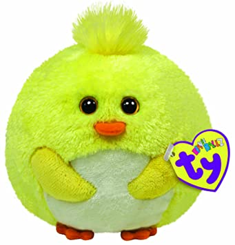 be9c3404e02 Ty Beanie Ballz Eggbert Yellow Chick  Amazon.co.uk  Toys   Games