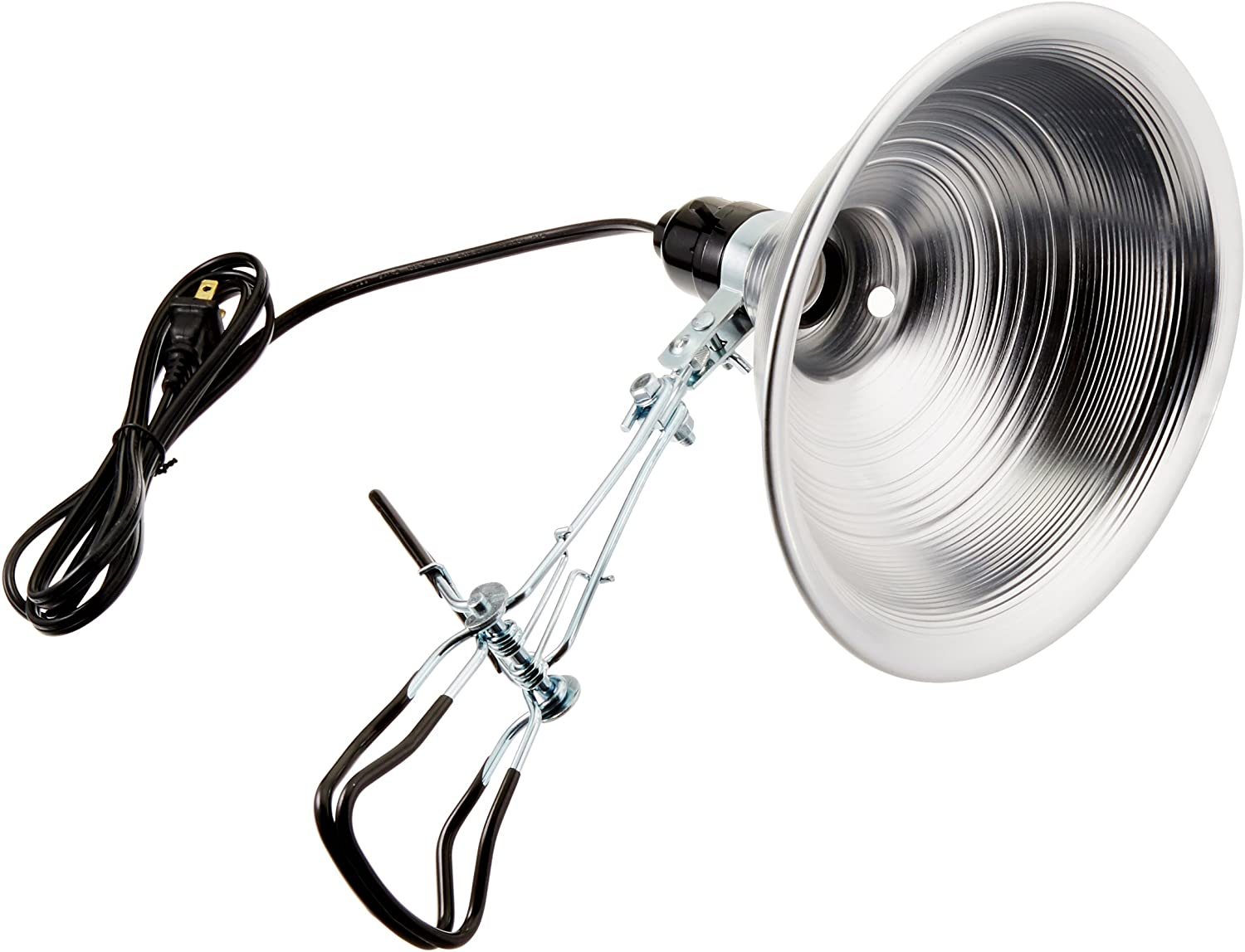 Bayco SL-301B4 8.5 Inch Clamp Light with Aluminum Reflector with Grip-Tite Super Clamp