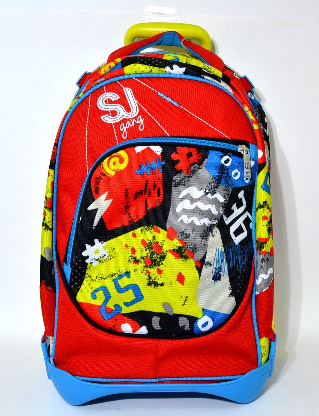 8bb31b3caf ZAINO TROLLEY SJ GANG SEVEN SEVEN SEVEN JACK JUNIOR BOY 28 LT HIGH TECH  ROSSO AZZURRO b45903