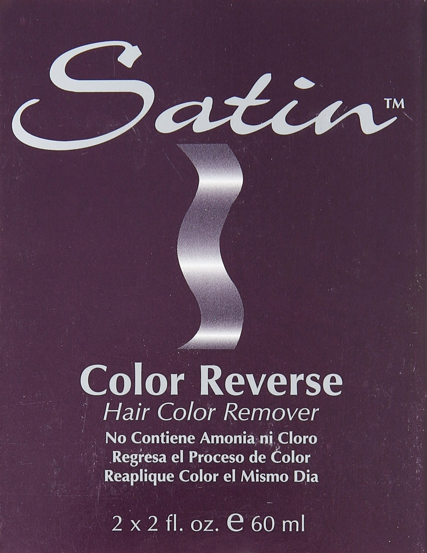 SATIN Color Reverse Hair Color Remover, Kit by Satin
