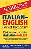 Barron's Italian-English Pocket Dictionary (Barron's Pocket Bilingual Dictionaries)