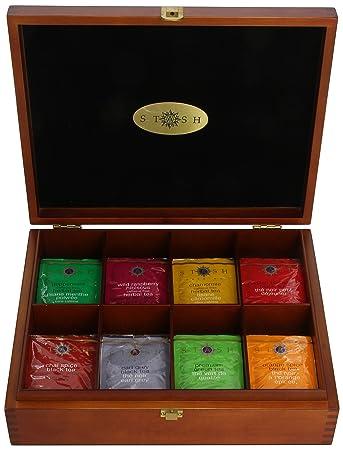 Amazon.com : Stash Tea 8 Flavor Variety Pack Gift Set, 80 Count ...
