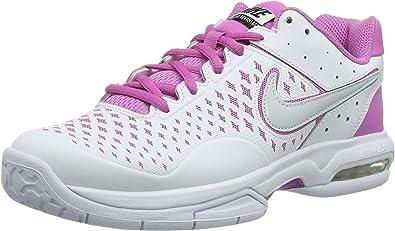 Nike Wmns Air Cage Advantage, Zapatillas de Tenis para Mujer, Blanco (White/Pr Pltnm-Rd Vlt-Cl Gry), 5.5 EU: Amazon.es: Zapatos y complementos