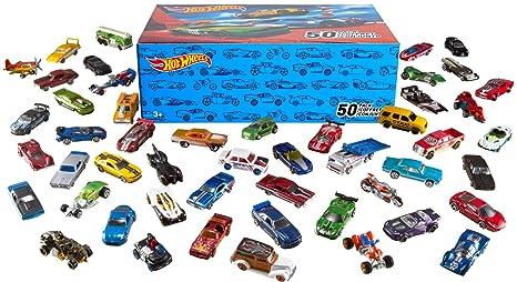Hot Wheels Basic Car 50 Pack Styles May Vary