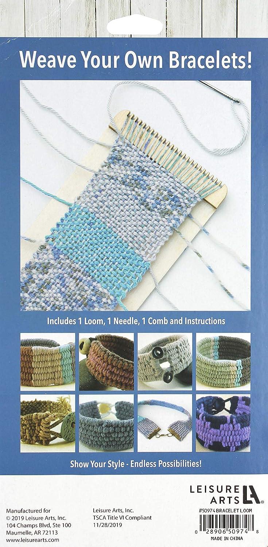 Assorted Leisure Arts Mini Maker Weaving Loom Kit