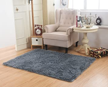 Delicieux Living Room Bedroom Rugs, MBIGM Ultra Soft Modern Area Rugs Thick Shaggy  Play Nursery Rug