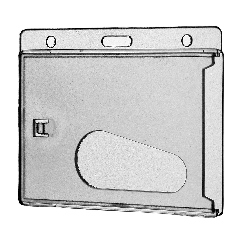 Geschlossener Kartenhalter REKO 68, Transparent Transparent (matt), Polycarbonat, für eine Karte für eine Karte Cardkeep