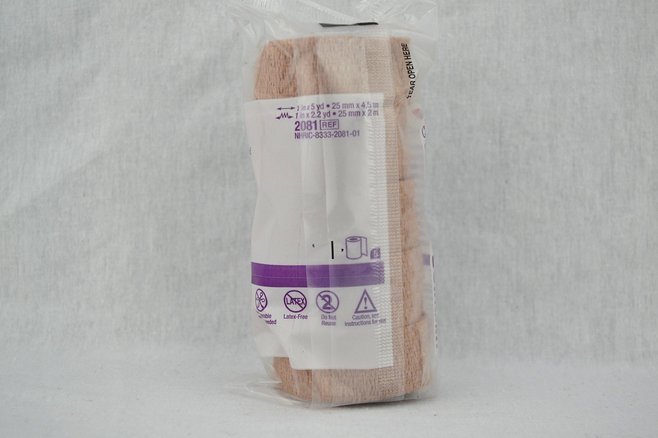 3M Coban Non-Latex Self Adherent Wrap, Coban Wrap N-Ltx 4in X 5Yd, (1 CASE, 18 EACH)