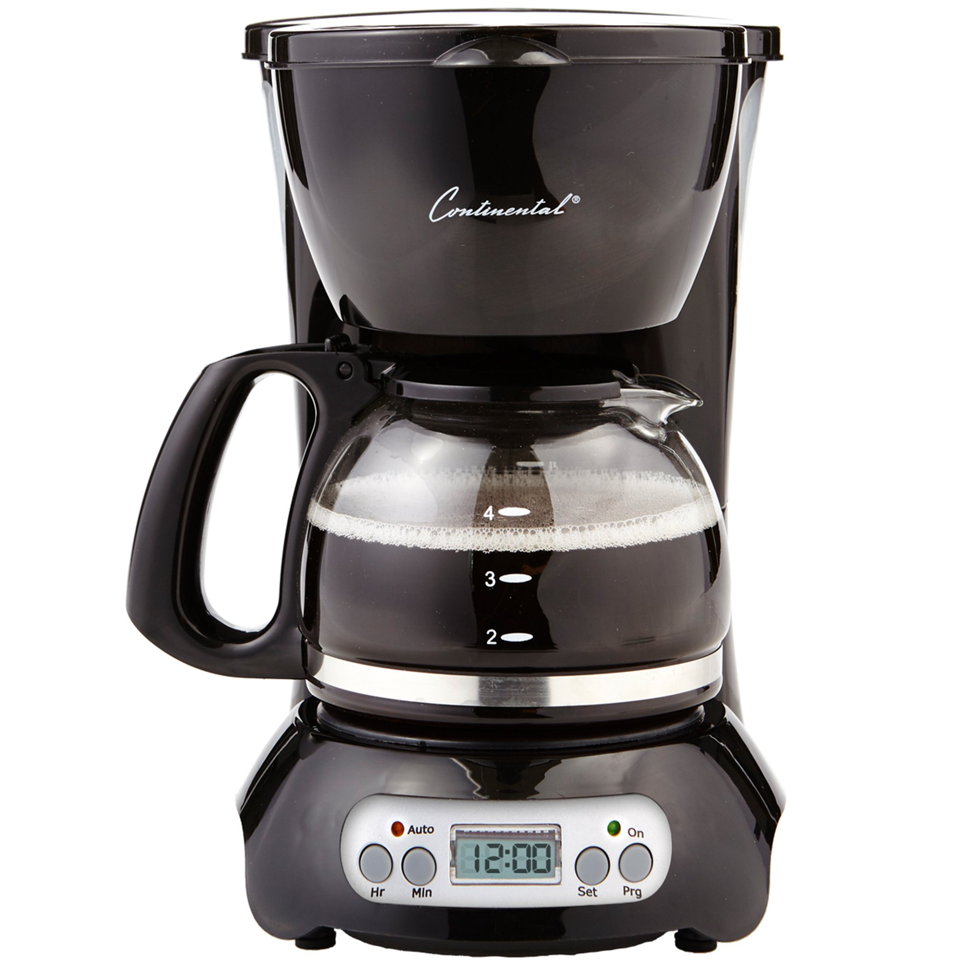 CE North America CP43929 4-Cup Digital Coffee Maker-BLK