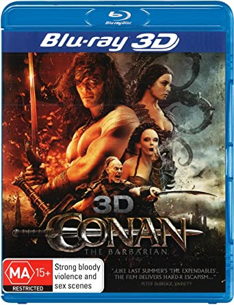 Amazon com: Conan the Barbarian (3D Blu-ray/Blu-ray): Rachel