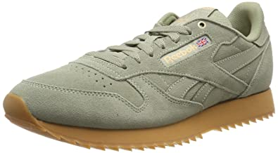 fd657fe710c Reebok Men s s Classic Leather Ripple Low-Top Sneakers  Amazon.co.uk ...