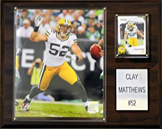 product image for NFL Clay Matthews Green Bay Packers Player Plaque