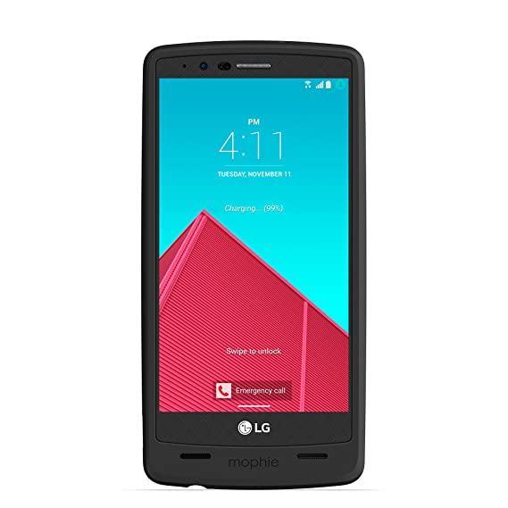 newest 92029 3cd00 mophie juice pack for LG G4 (3,450mAh) - Black