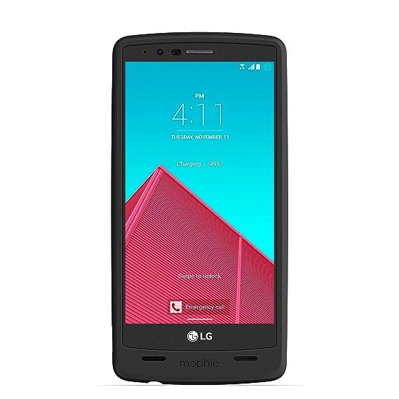 newest d4122 8ac82 mophie juice pack for LG G4 (3,450mAh) - Black