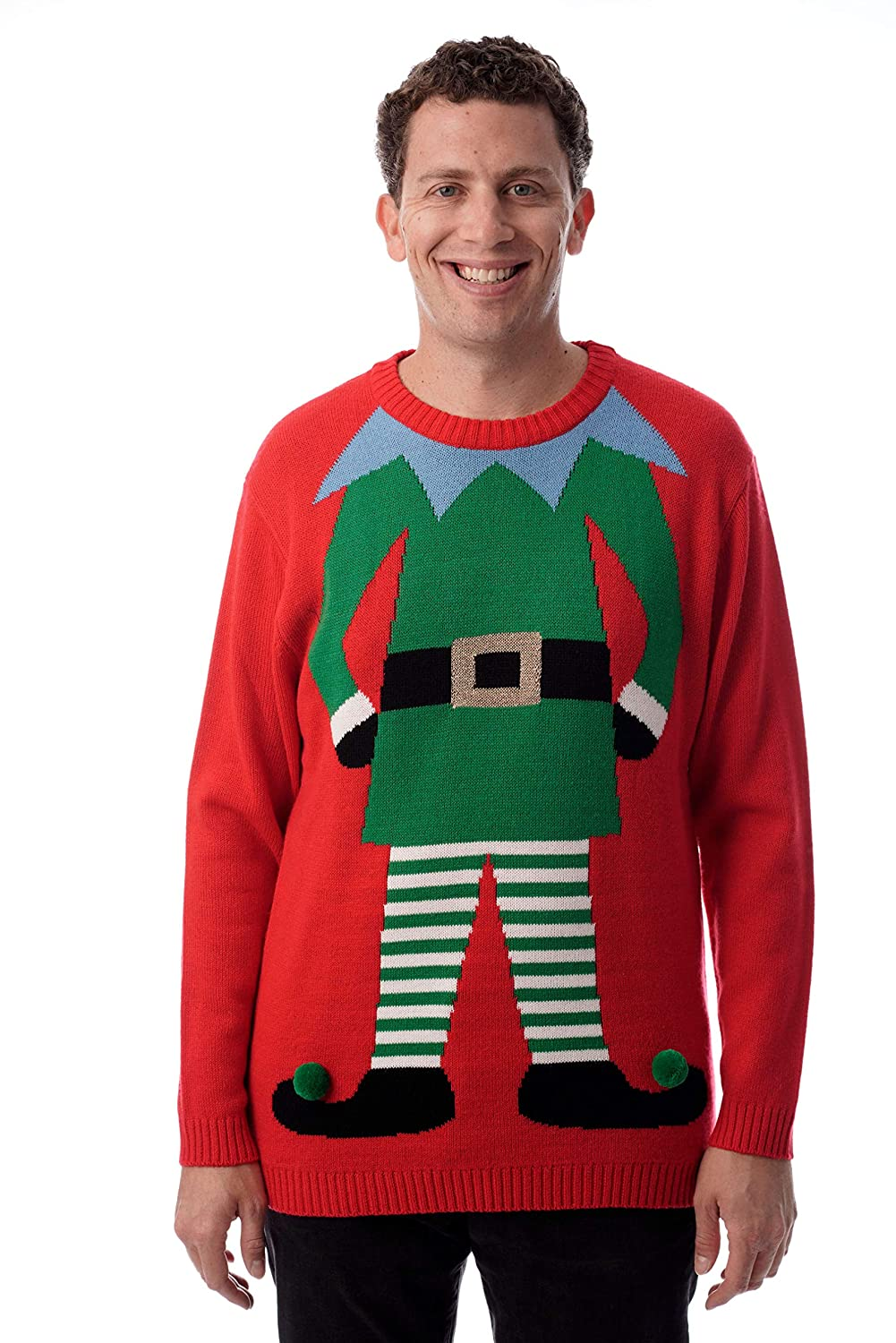 235476f0909f #followme Mens Ugly Christmas Sweater - Sweaters for Men