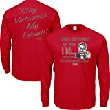 Straight Outta Columbus Sm-5X Scarlet Red T Shirt Smack Apparel Ohio State Football Fans