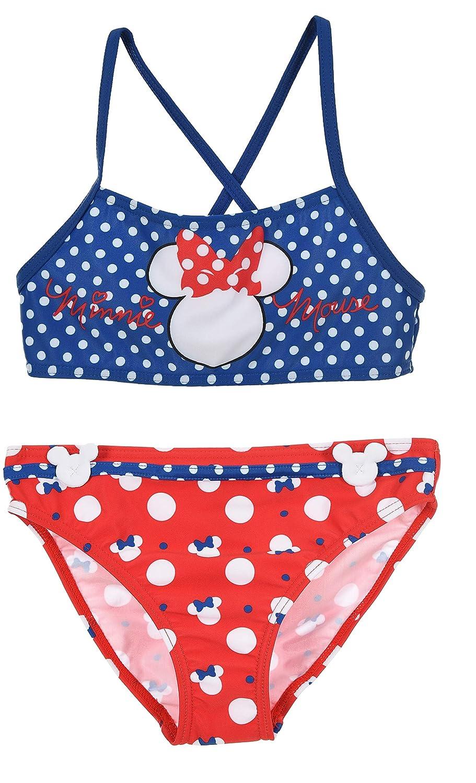 Minnie Mouse Niñas Traje De Baño Una Pieza: Amazon.es: Ropa ...