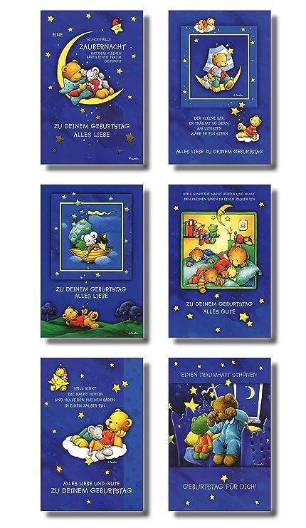 50 tarjetas de felicitación para cumpleaños infantiles ...