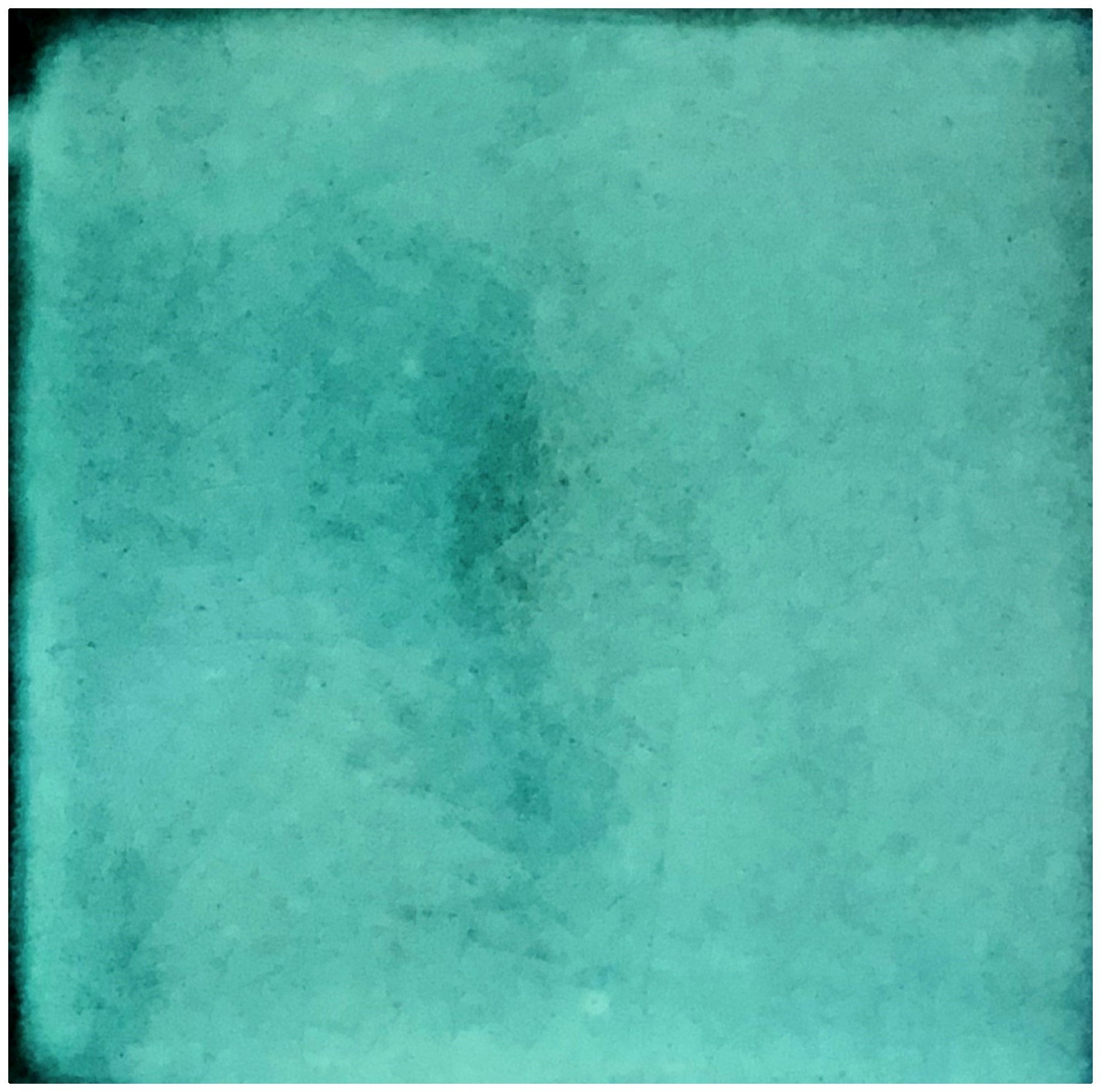 Rustico Tile and Stone TR4TURQUOISE Turquoise Ceramic Tile Box of 90, 4 x 4'', Blue